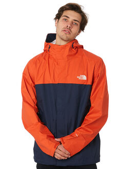 NAVY ORANGE MENS CLOTHING THE NORTH FACE JACKETS - NF0A2VD3AYL
