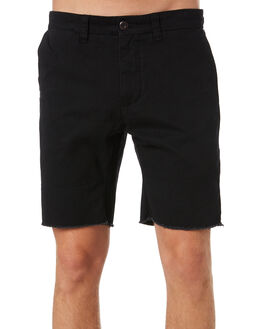 BLACK MENS CLOTHING RUSTY SHORTS - WKM0930BLK