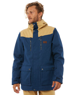 INSIGNIA BLUE SNOW OUTERWEAR RIP CURL JACKETS - SCJCK48008