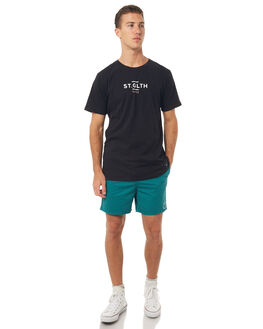 BLACK MENS CLOTHING ST GOLIATH TEES - 4308022BLK