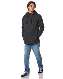 BLACK MENS CLOTHING VOLCOM JACKETS - A5811900BLK