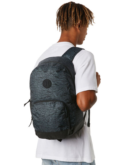 BLACK SLEEPY HOLLOW MENS ACCESSORIES HURLEY BAGS + BACKPACKS - HU0084011