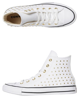 WHITE WOMENS FOOTWEAR CONVERSE SNEAKERS - 561683WHT