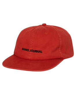 BURNT ORANGE MENS ACCESSORIES BANKS HEADWEAR - HA0096BOR