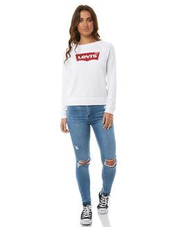 WHITE WOMENS CLOTHING LEVI'S TEES - 29765-0001WHT