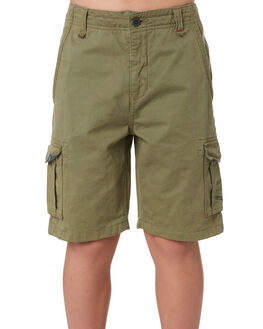 MID GREEN KIDS BOYS RIP CURL SHORTS - KWAKU19436