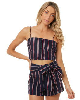 NAVY W RUBY WOMENS CLOTHING THE FIFTH LABEL FASHION TOPS - 40171180-5NAVY