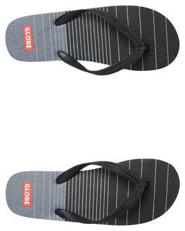 BLACK CHARCOAL MENS FOOTWEAR GLOBE THONGS - GBINDIE10012