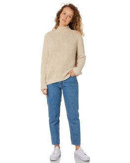 CREAM WOMENS CLOTHING SWELL KNITS + CARDIGANS - S8194146CREAM