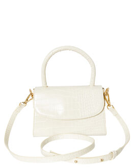 OFF WHITE CROC WOMENS ACCESSORIES BILLINI BAGS + BACKPACKS - HB33OWHTC