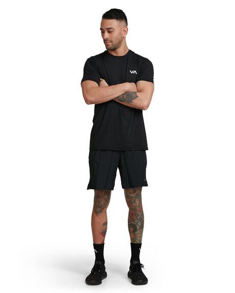 BLACK MENS CLOTHING RVCA SHORTS - RV-R305318-BLK