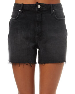 BYGONE BLACK WOMENS CLOTHING RIDERS BY LEE SHORTS - R-551266-CS6BYGO