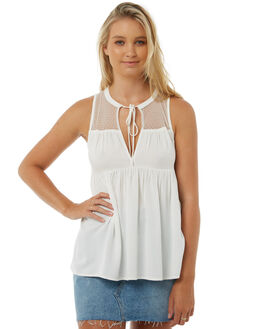 STAR WHITE OUTLET WOMENS VOLCOM FASHION TOPS - B0511800SWH