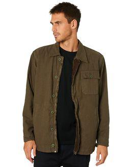 IVY GREEN MENS CLOTHING THRILLS JACKETS - TW20-206FIVYGR