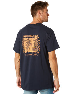 NAVY MENS CLOTHING BILLABONG TEES - 9595022NVY