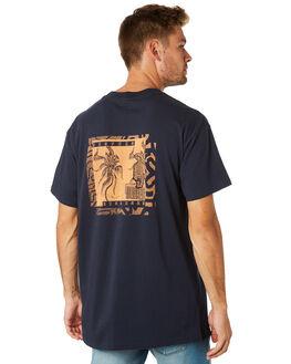NAVY MENS CLOTHING BILLABONG TEES - 9595022NVY