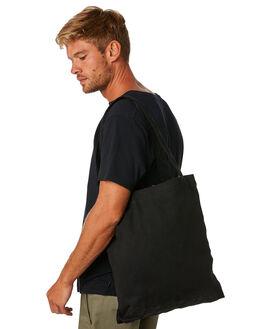BLACK MENS ACCESSORIES AS COLOUR BAGS + BACKPACKS - 1001-BLK