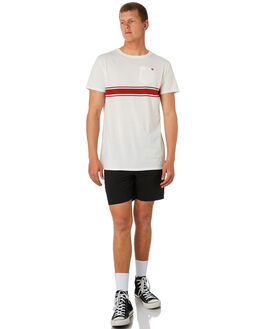 OFF WHITE MENS CLOTHING BANKS TEES - WTS0393OWH