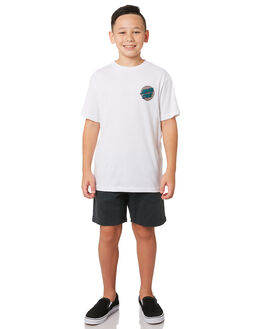 WHITE KIDS BOYS SANTA CRUZ TOPS - SC-YTA9190WHT