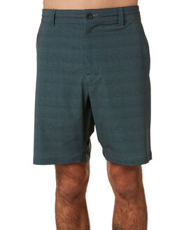 GREEN NIGHT SASHIKO MENS CLOTHING OUTERKNOWN SHORTS - 176002GNS