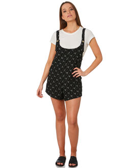 BLACK WOMENS CLOTHING SWELL PLAYSUITS + OVERALLS - S8188450BLACK