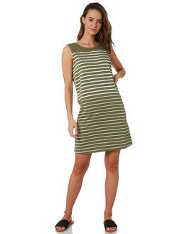 KHAKI WOMENS CLOTHING SWELL DRESSES - S8202455KHA