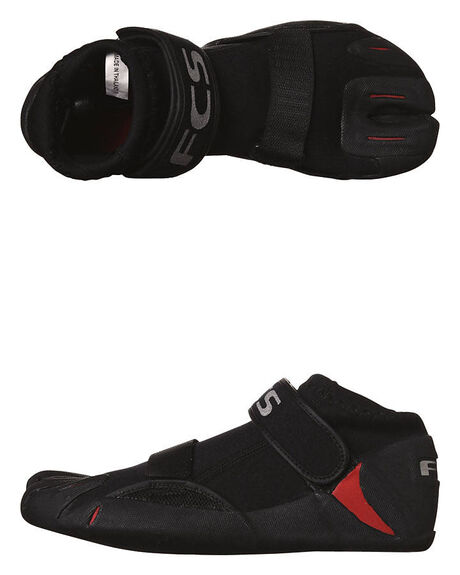 BLACK RED SURF WETSUITS FCS ACCESSORIES - 3405-323