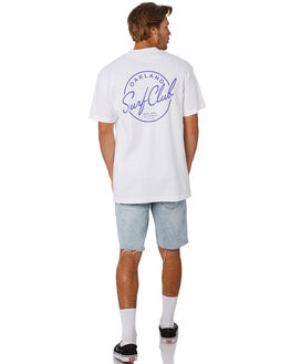 WHITE MENS CLOTHING OAKLAND SURF CLUB TEES - SS19T1000WHT
