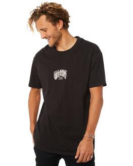 BLACK MENS CLOTHING BILLABONG TEES - 9582014BLK