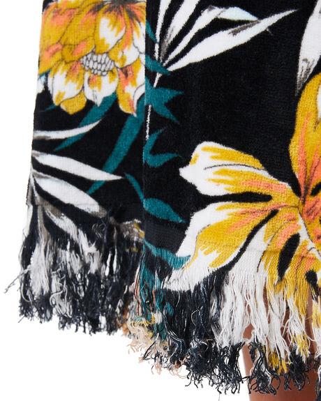 BLACK KIDS GIRLS RIP CURL TOWELS - JTWAC10090