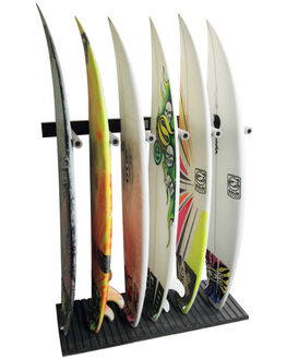 BLACK WHITE BOARDSPORTS SURF SOLID RACKS BOARD RACKS - SR-937W