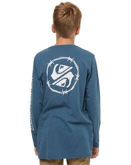 REAL TEAL KIDS BOYS QUIKSILVER TEES - EQBZT03683BPR0
