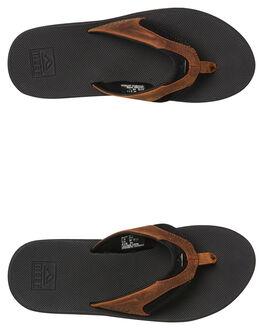 BLACK BRONZE MENS FOOTWEAR REEF THONGS - 2156BBZ