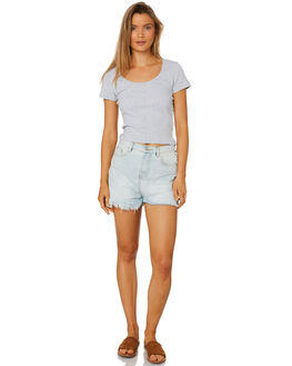 GREY MARLE WOMENS CLOTHING ALL ABOUT EVE TEES - 6413007GRM