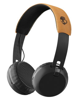 BLACK BLACK TAN ACCESSORIES AUDIO SKULLCANDY  - S5GBW-J543BKTA