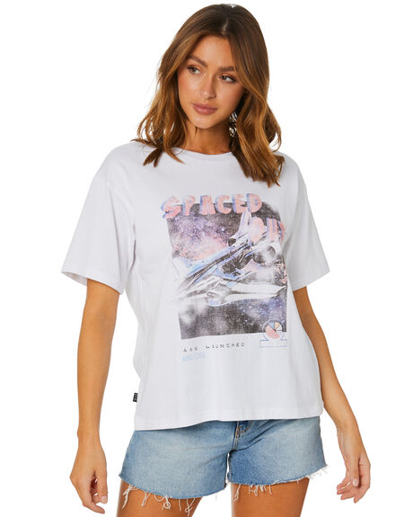 WHITE WOMENS CLOTHING ALL ABOUT EVE TEES - 6454030WHT