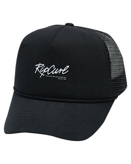 WASHED BLACK MENS ACCESSORIES RIP CURL HEADWEAR - CCAQU18264
