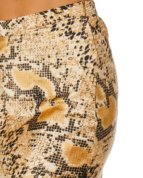SNAKESKIN WOMENS CLOTHING JAGGER AND STONE SKIRTS - JS083-4_SNK
