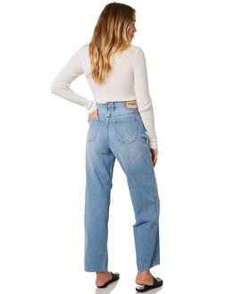 SUNDAY BLUE WOMENS CLOTHING WRANGLER JEANS - W-951445-A11