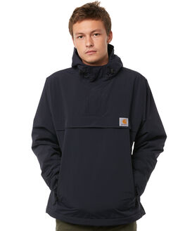 DARK NAVY MENS CLOTHING CARHARTT JUMPERS - I0218721C