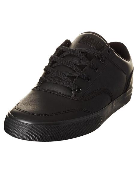BLACK MENS FOOTWEAR GLOBE SNEAKERS - GBTRIB-10053