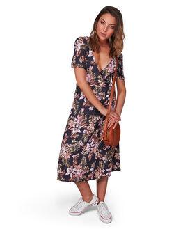 OFF BLACK WOMENS CLOTHING BILLABONG DRESSES - BB-6508473-OFB