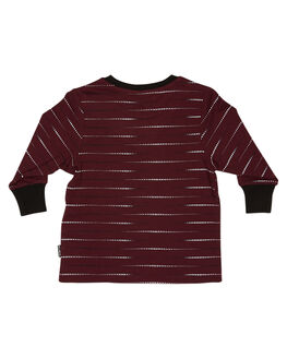 BURGUNDY KIDS BOYS BILLABONG TOPS - 7595101BUR