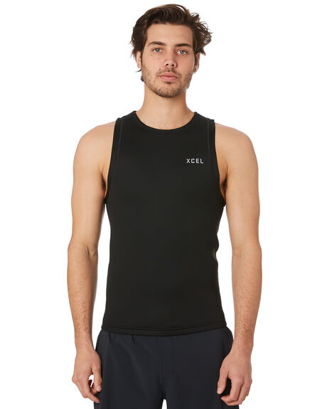 BLACK SILVER BOARDSPORTS SURF XCEL MENS - MN010218BLX