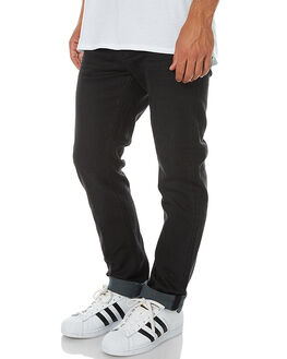 JET BLACK MENS CLOTHING RIDERS BY LEE JEANS - R-500772-A69JETBK