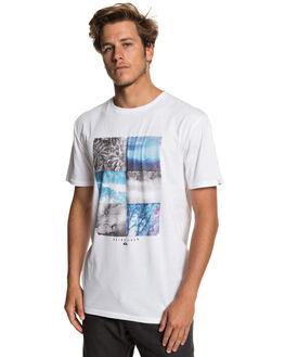 WHITE MENS CLOTHING QUIKSILVER TEES - EQYZT05266-WBB0