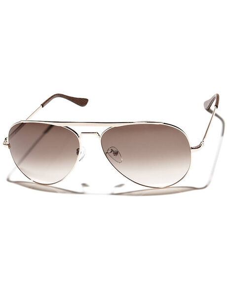 ROSE GOLD UNISEX ADULTS VALLEY SUNGLASSES - S0074RGLD