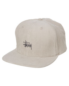 WHITE SAND MENS ACCESSORIES STUSSY HEADWEAR - ST791011WHTSD