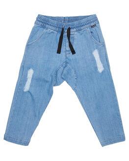 BLEACH BLUE KIDS TODDLER BOYS MUNSTER KIDS PANTS - MK172PA03BLHBL