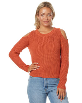 CLAY WOMENS CLOTHING MINKPINK KNITS + CARDIGANS - MP1702803CLAY